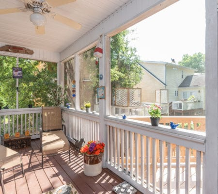 5 Mulberry Court - Backyard Deck