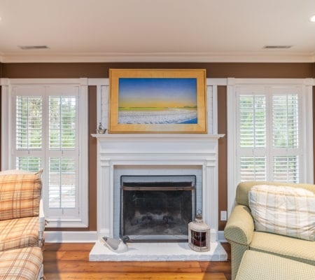 76 Baynard Cove Road - Fireplace