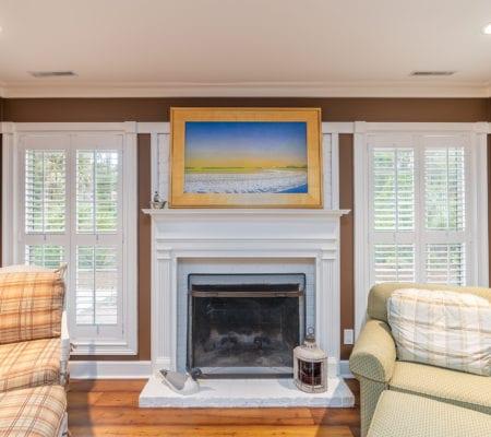 76 Baynard Cove Road - Fireplace