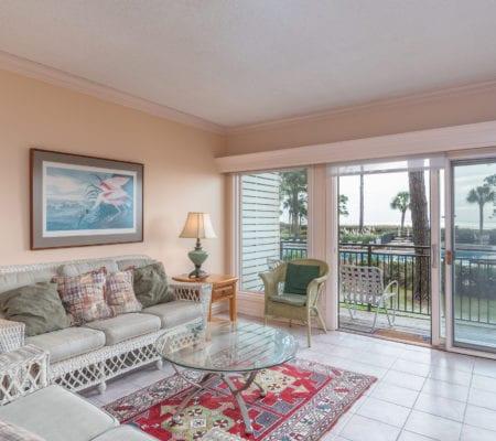 1866 Beachside Tennis Villas - Living Room