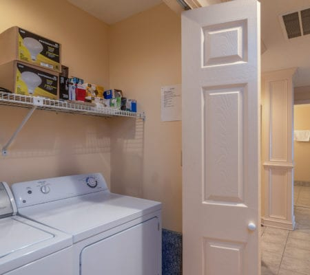 1866 Beachside Tennis Villas - Laundry Room