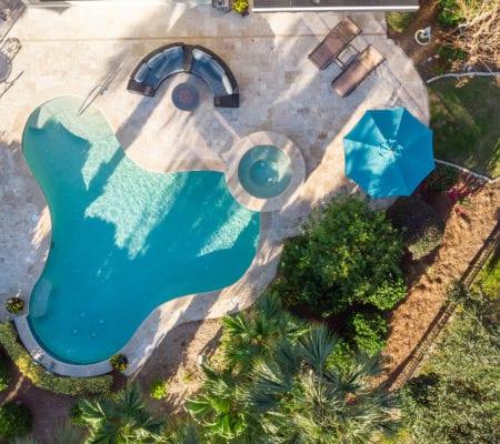 7 Seabrook Landing Drive - Pool Overhead